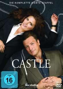 Castle Season 7, 6 DVDs