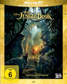 The Jungle Book (2016) (3D & 2D Blu-ray), 2 Blu-ray Discs