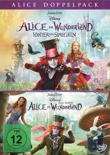 Alice im Wunderland 1 & 2, 2 DVDs