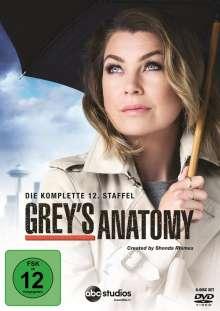 Grey's Anatomy Season 12, 6 DVDs