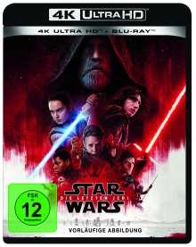 Star Wars 8: Die letzten Jedi (Ultra HD Blu-ray & Blu-ray), 1 Ultra HD Blu-ray und 2 Blu-ray Discs