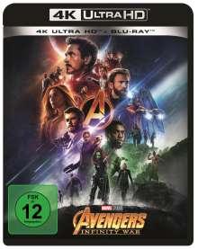 Avengers: Infinity War (Ultra HD Blu-ray & Blu-ray), 1 Ultra HD Blu-ray und 1 Blu-ray Disc