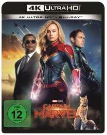 Captain Marvel (Ultra HD Blu-ray & Blu-ray), 1 Ultra HD Blu-ray und 1 Blu-ray Disc