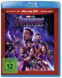 Avengers: Endgame (3D & 2D Blu-ray), 3 Blu-ray Discs