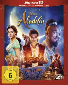 Aladdin (2019) (3D & 2D Blu-ray), 2 Blu-ray Discs
