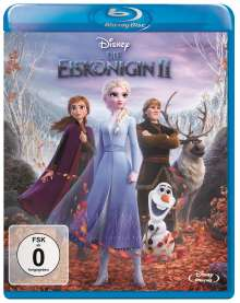 Die Eiskönigin 2 (Blu-ray), Blu-ray Disc
