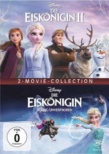 Die Eiskönigin 1 & 2, 2 DVDs