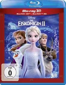 Die Eiskönigin 2 (3D & 2D Blu-ray), 2 Blu-ray Discs