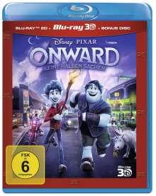 Onward - Keine halben Sachen (3D & 2D Blu-ray), 2 Blu-ray Discs