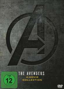 The Avengers 4-Movie Collection (Digipak), 4 DVDs