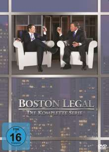 Boston Legal (Komplette Serie), 27 DVDs