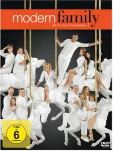 Modern Family Staffel 7, 3 DVDs