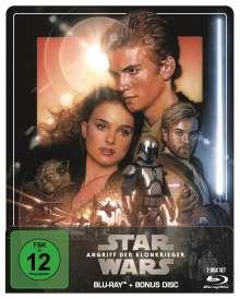 Star Wars Episode 2: Angriff der Klonkrieger (Blu-ray im Steelbook), 2 Blu-ray Discs