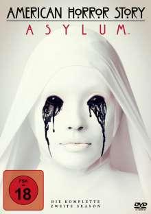 American Horror Story Staffel 2: Asylum, 4 DVDs