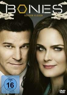 Bones - Die Knochenjägerin Staffel 11, 6 DVDs