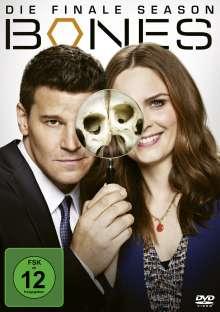 Bones - Die Knochenjägerin Staffel 12 (finale Staffel), 3 DVDs