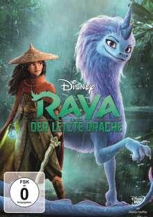 Raya und der letzte Drache, DVD