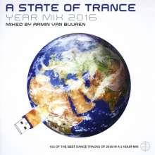 Armin Van Buuren: A State Of Trance Yearmix 2016, 2 CDs