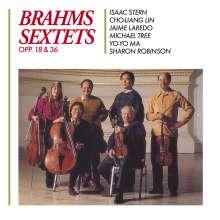 Johannes Brahms (1833-1897): Streichsextette Nr.1 & 2, 2 CDs