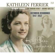 Kathleen Ferrier - Historical Recordings 1947-1952 (180g), 2 LPs