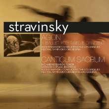 Igor Strawinsky (1882-1971): Agon-Ballett (180g), LP