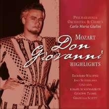 Wolfgang Amadeus Mozart (1756-1791): Don Giovanni (Ausz.) (180g), CD