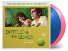 Filmmusik: Battle Of The Sexes (180g) (Limited-Numbered-Edition) (Blue & Pink Vinyl), 2 LPs