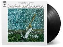 Steve Reich (geb. 1936): Live/Electric Music (180g), LP