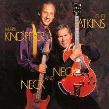 Chet Atkins & Mark Knopfler: Neck And Neck (180g) (Limited Numbered Edition) (Translucent Blue Vinyl), LP