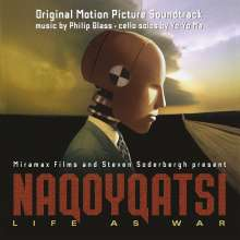 Philip Glass (geb. 1937): Filmmusik: Naqoyqatsi - Life as War (Filmmusik) (180g), 2 LPs