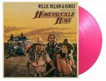 Willie Nelson: Filmmusik: Honeysuckle Rose (O.S.T.) (180g) (Limited Numbered Extended Edition) (Rose Colored Vinyl), 2 LPs