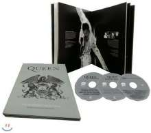 Queen: The Platinum Collection (Korea-Magazine-Edition), 3 CDs und 1 Buch