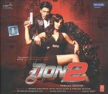 Filmmusik: Don 2, CD
