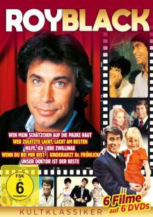 Roy Black - Kultklassiker, 6 DVDs