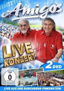 Die Amigos: Live Konzert aus der Burgarena Finkenstein, 2 DVDs