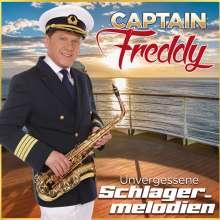 Captain Freddy: Unvergessene Schlagermelodien, CD