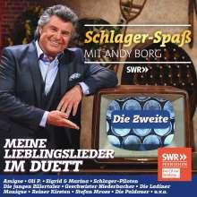 Schlager-Spaß mit Andy Borg: Die Zweite, CD