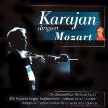 Herbert von Karajan: Dirigiert Mozart, CD