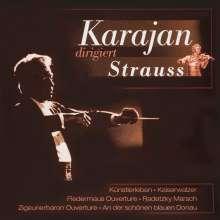 Herbert von Karajan: Dirigiert Strauss, CD