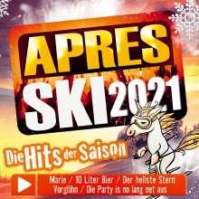 Aprés Ski 2021-Die Hits der Saison, CD