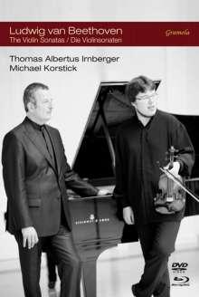 Ludwig van Beethoven (1770-1827): Violinsonaten Nr.1-10, 2 DVDs und 2 Blu-ray Discs