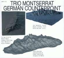 Trio Montserrat - German Counterpoint, CD