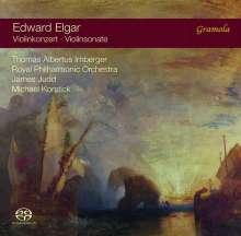 Edward Elgar (1857-1934): Violinkonzert op.61, Super Audio CD