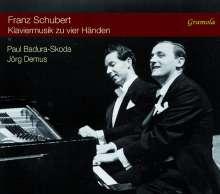 Franz Schubert (1797-1828): Klavierwerke zu vier Händen, 2 CDs