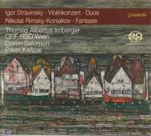 Igor Strawinsky (1882-1971): Violinkonzert, Super Audio CD