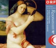 """Resonanzen '97 """"Musik zwischen Mittelalter und Barock"""", 2 CDs"""