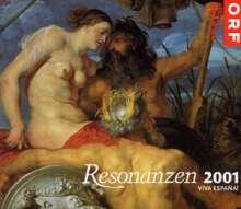 """Resonanzen '01 """"Viva Espana"""", 2 CDs"""