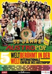 50 Jahre Austropop Folge 05: Weltberühmt in der Welt - Internationale Erfolge des Austropop, DVD