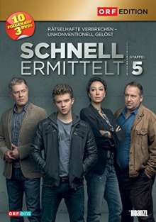 Schnell ermittelt Staffel 5, 3 DVDs