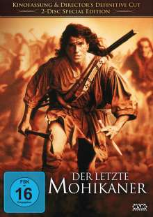 Der letzte Mohikaner (1992), 2 DVDs
